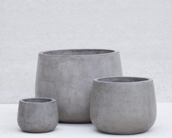 fiber cement pots
