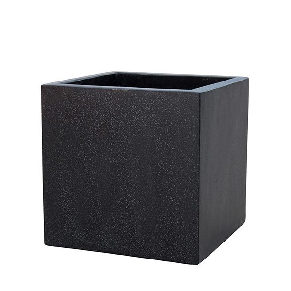 black cube terrazzo