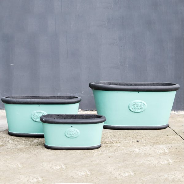 Heritage - black - blue -trough